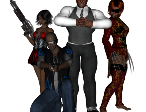 3D Characters – DAZ Studio
