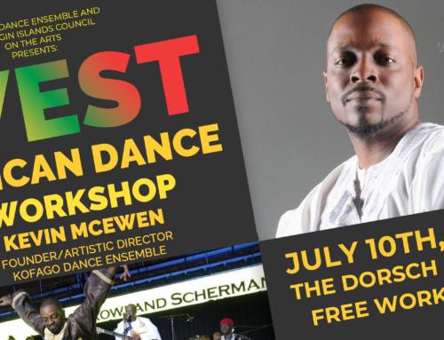 West African Dance Workshop – St. Croix